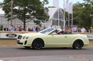 678981267364204249 300x198 Bentley Continental Supersports Convertible makes public driving debut Goodwood FOS 2010