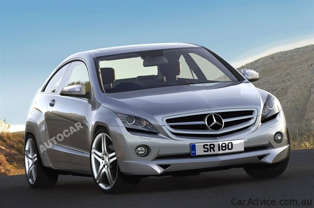 Autocar rendering of Mercedes Benz A Class AMG 2012 Mercedes Benz A Class AMG