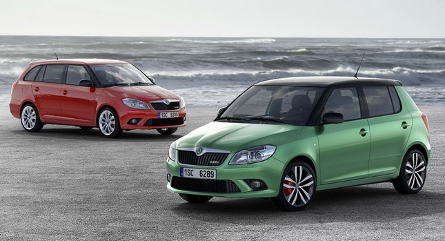 Skoda Fabia RS 001  Skoda New  Fabia RS with 1.4 TSI 180HP in both Hatchback and Estate Forms Skoda Fabia Price, Features Specificatons