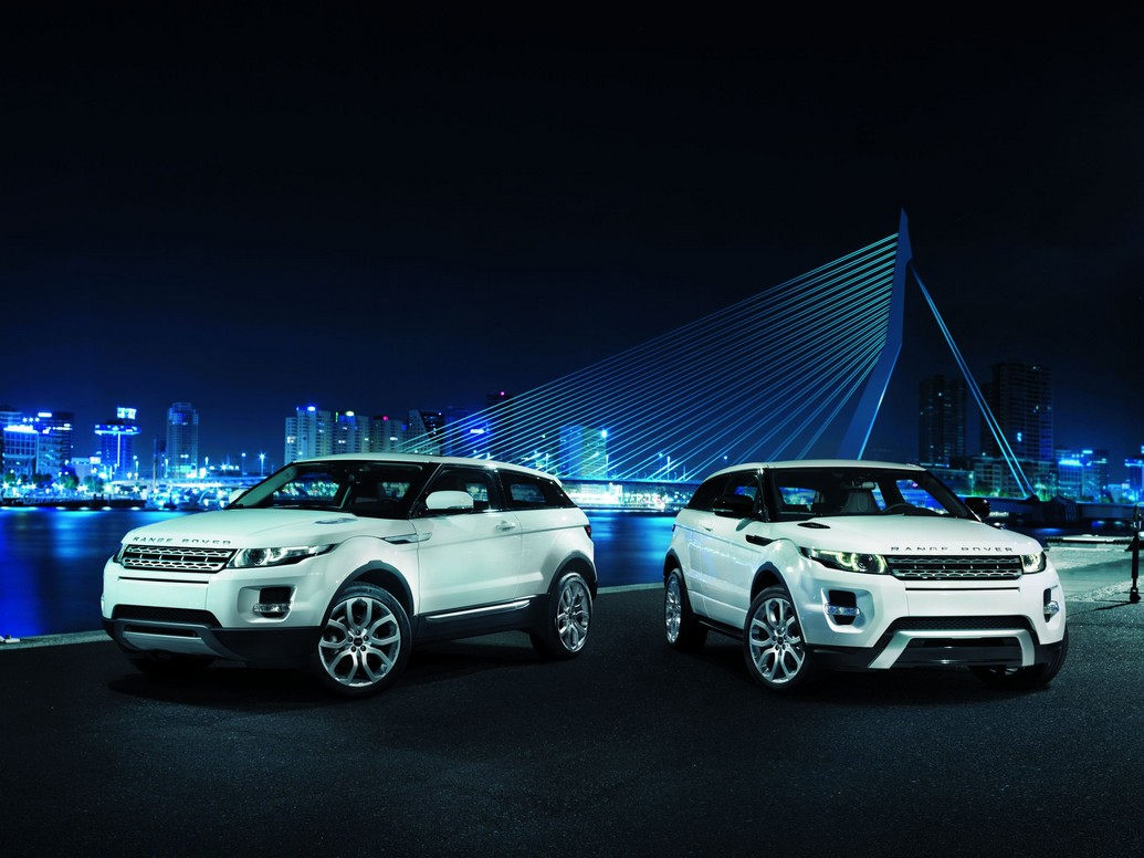 of Range Rover Evoque is