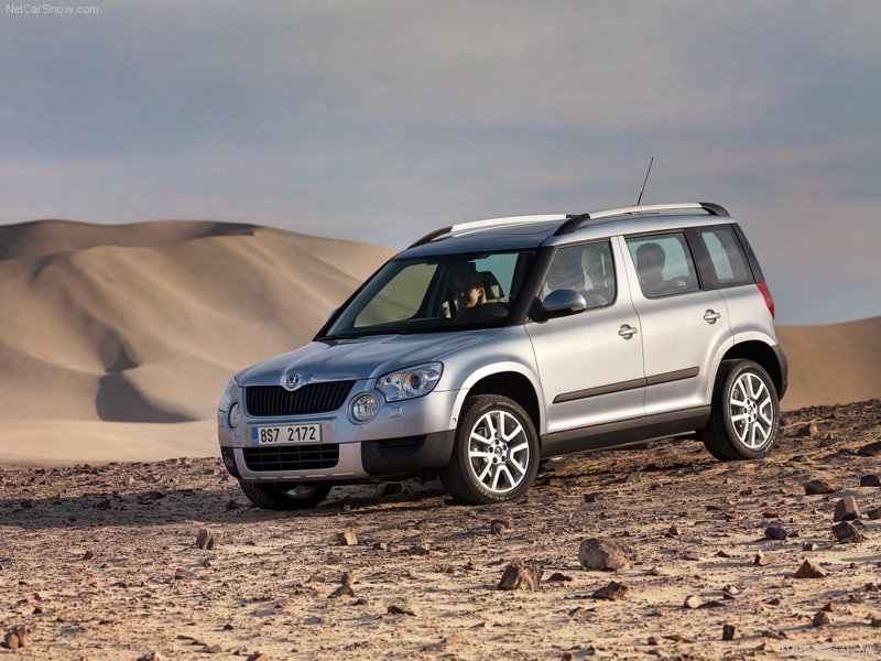 skoda yeti first drive photos price specifications reviews. Black Bedroom Furniture Sets. Home Design Ideas