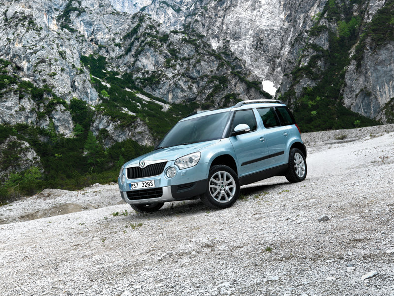 Skoda Yeti 2010 800x600 wallpaper 05 Skoda Yeti first drive Photos,Price,Specifications,Reviews