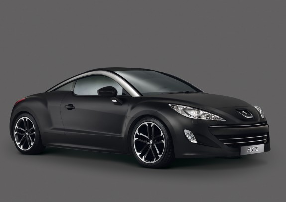 2010 Peugeot RCZ Asphalt Limited Edition Front Side View 575x407 2010 Peugeot RCZ Asphalt Edition   Photos, Price, Specifications, Reviews