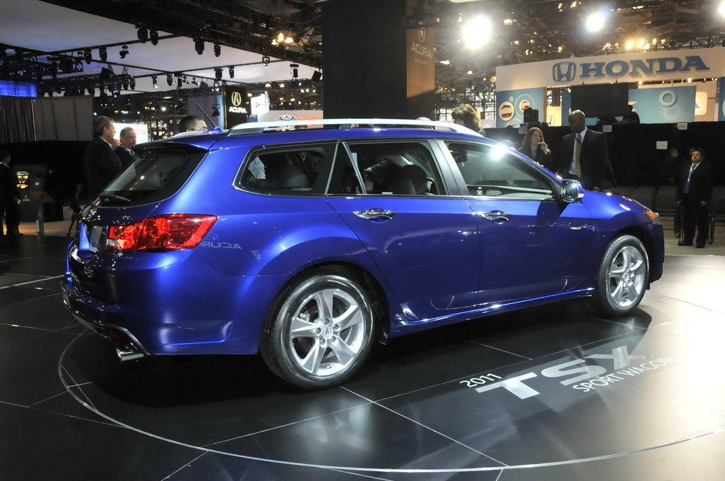 2011 Acura Tsx Sport Wagon Price Photos Specifications