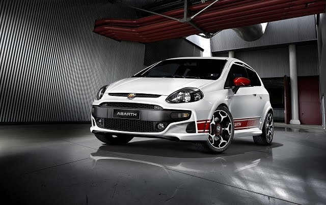 2011 Fiat Punto Evo Abarth Front Angle View 2011 Fiat Punto Evo Abarth   Reviews, Specifications, Photos