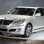 2011 Hyundai Equus Front Side View 150x150 2011 Hyundai Equus   Photos, Specifications, Reviews, Price