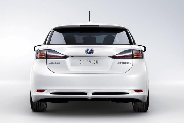 2011 Lexus CT 200h Rear View 2011 New Lexus CT 200h   Specifications, Price, Photos, Reviews