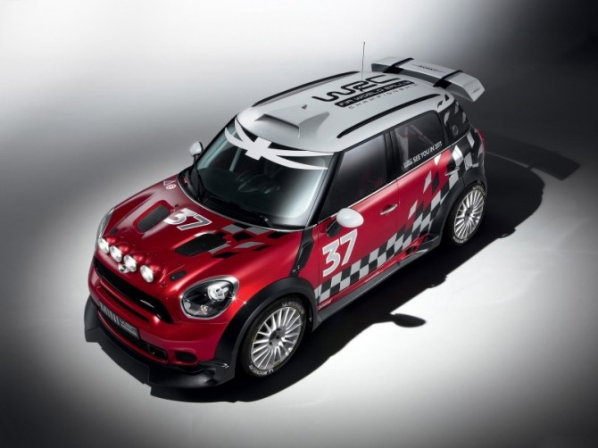 2011 Mini WRC Front Angle Top View 670x502 2012 Mini WRC   Photos, Reviews, Specifications