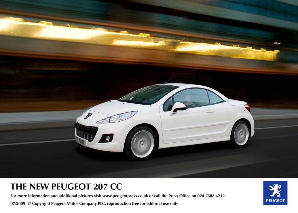 2011 peugeot 207 cc – photos, price, reviews, specifications