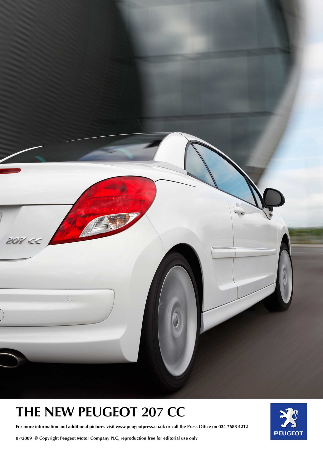 2011 peugeot 207 cc photos price reviews specifications. Black Bedroom Furniture Sets. Home Design Ideas