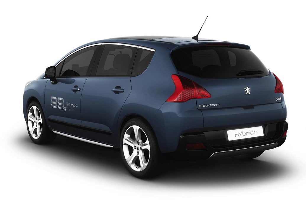 2011 Peugeot 3008 Hybrid4 Reviews Photos Price