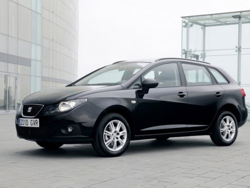 2011 Seat Ibiza ST black front side view 499x375 2011 Seat Ibiza ST Photos,Price,Specifications,Reviews