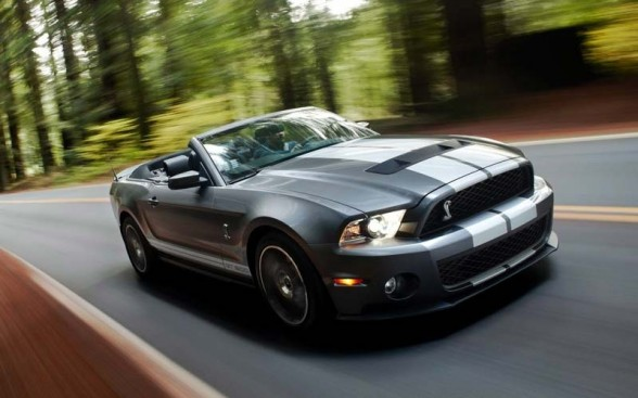 2011 Shelby GT500 Reveal In LA Auto Show 1 On Road 588x367 2011 Shelby Mustang GT500   Photos, Reviews, Specifications, Price