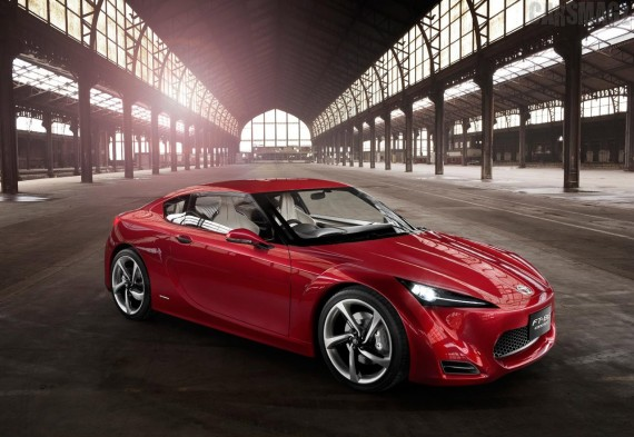 2011 Toyota FT 86 from Front View Picture 570x393 2011 Toyota FT 86   Specifications, Photos, Price, Reviews
