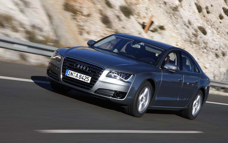 2011 audi a8 front three quarter 4 2011 Audi A8  Photos,Specifications,Price,Reviews