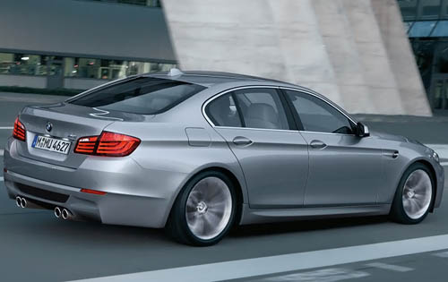2012 BMW M5 Rear Side View 2012 BMW M5   Photos, Price, Specifications, Reviews