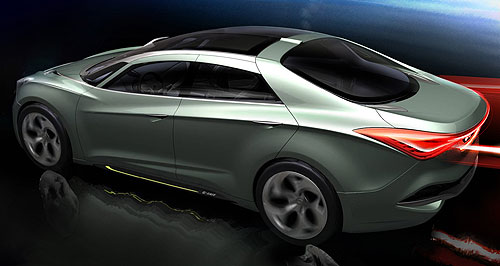 Hyundai i flow Concept Large 2011 Hyundai i flow i40   Photos, Specifications, Reviews