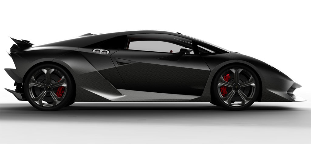 Why So Serious 2011 Lamborghini Sesto Elemento Concept