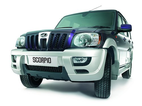 Mahindra Scorpio refreshed dark blue 2011 Mahindra Scorpio   Photos, Specifications, Reviews, Price