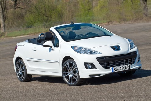Peugeot 207 CC Black and White 1 2011 Peugeot 207 CC   Photos, Price, Reviews, Specifications