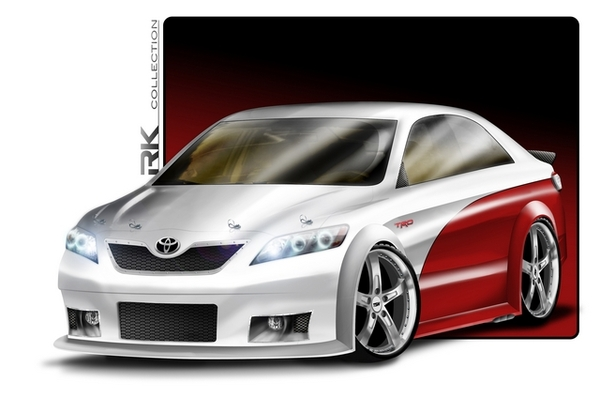 RK Camry Toyota Camry Coupe V8 NASCAR Edition   Photos, Specifications, Reviews