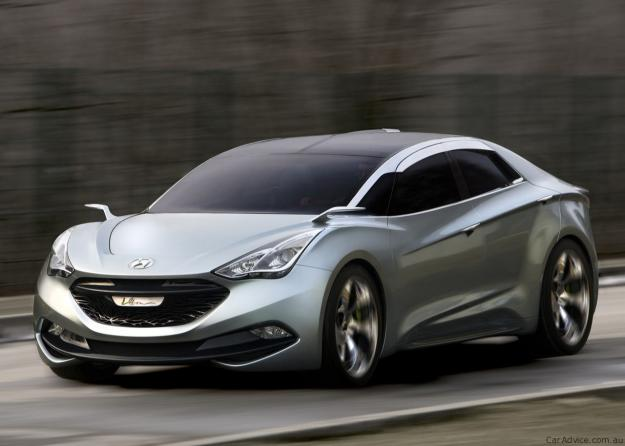 hyundai i flow concept to Spawn i40 coupe 1 2011 Hyundai i flow i40   Photos, Specifications, Reviews