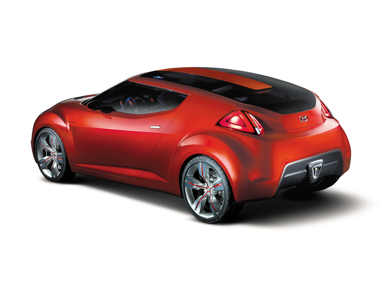 hyundai veloster concept 2 2011 Hyundai Veloster Concept   Photos, Specifications, Price, Reviews