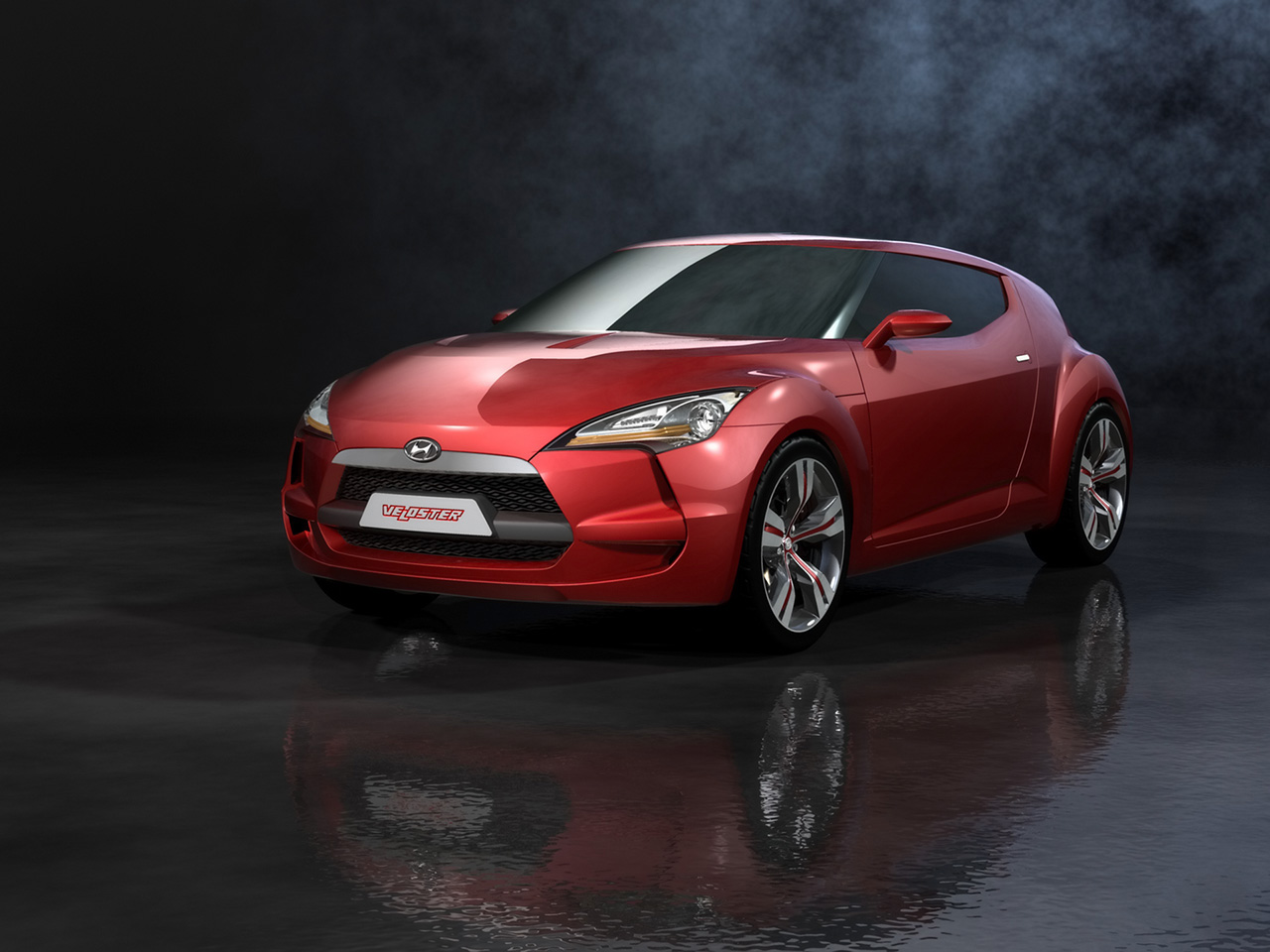 hyundai veloster concept 3 2011 Hyundai Veloster Concept   Photos, Specifications, Price, Reviews
