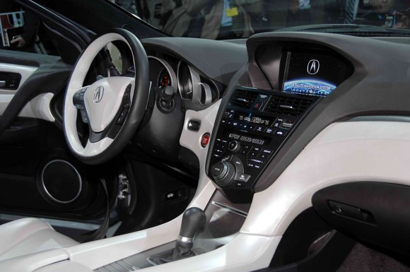2011 Acura ZDX Interior 580x385 2011 Acura ZDX   Features, Photos, Price