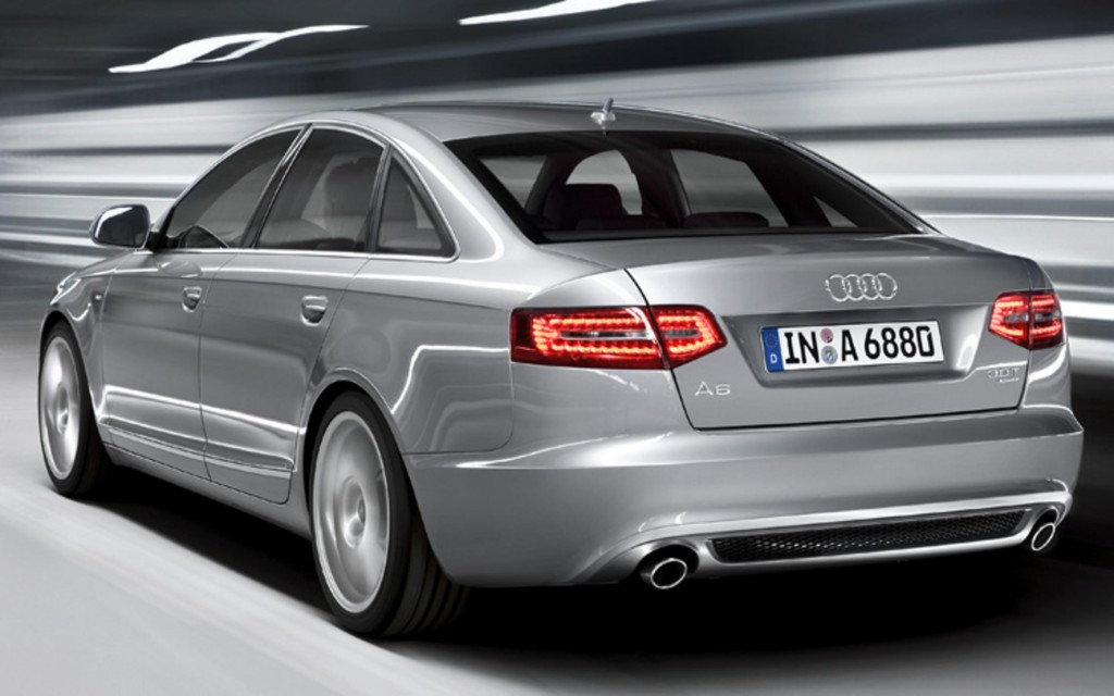 2011 Audi A6 back  The 2011, A6 model from Audi