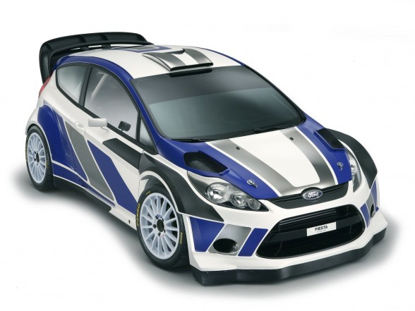 2011 Ford Fiesta RS WRC Front Angle Top View 588x441 2011 Ford Fiesta RS WRC   Features, Photos