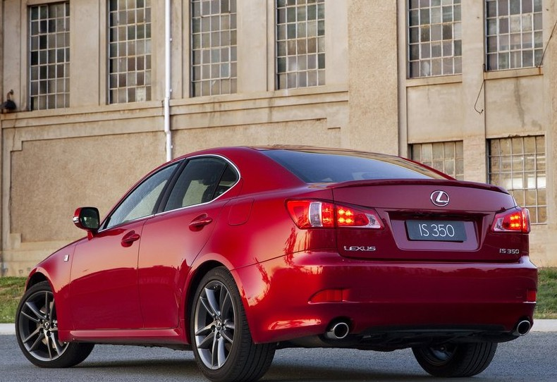 2011 Lexus IS 350 F Sport Rear View 2011 Lexus IS 350 F Sport   Photos, Features, Reviews, Price
