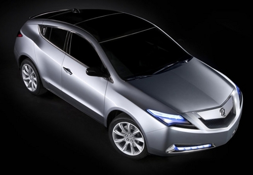 2011 acura zdx 21 2011 Acura ZDX   Features, Photos, Price