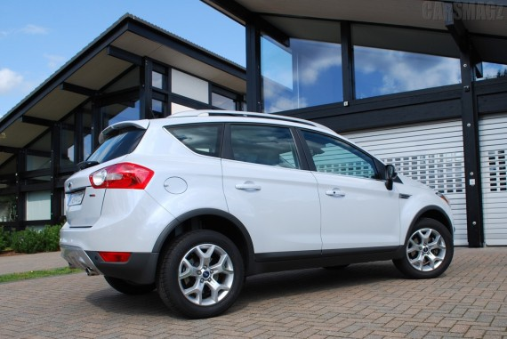 2011 ford Kuga USA from Rear View Picture 570x381 2011 Ford Kuga Coupe   Photos, Price, Features