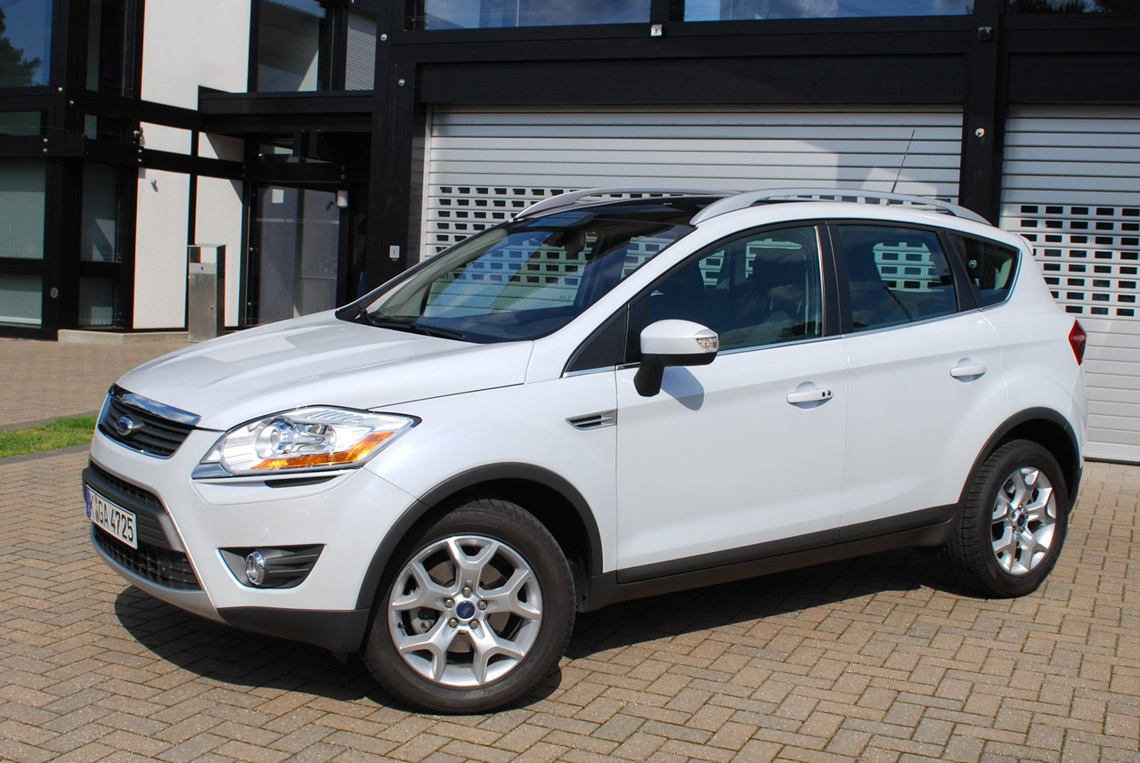 2011 ford kuga front side 2011 Ford Kuga Coupe   Photos, Price, Features