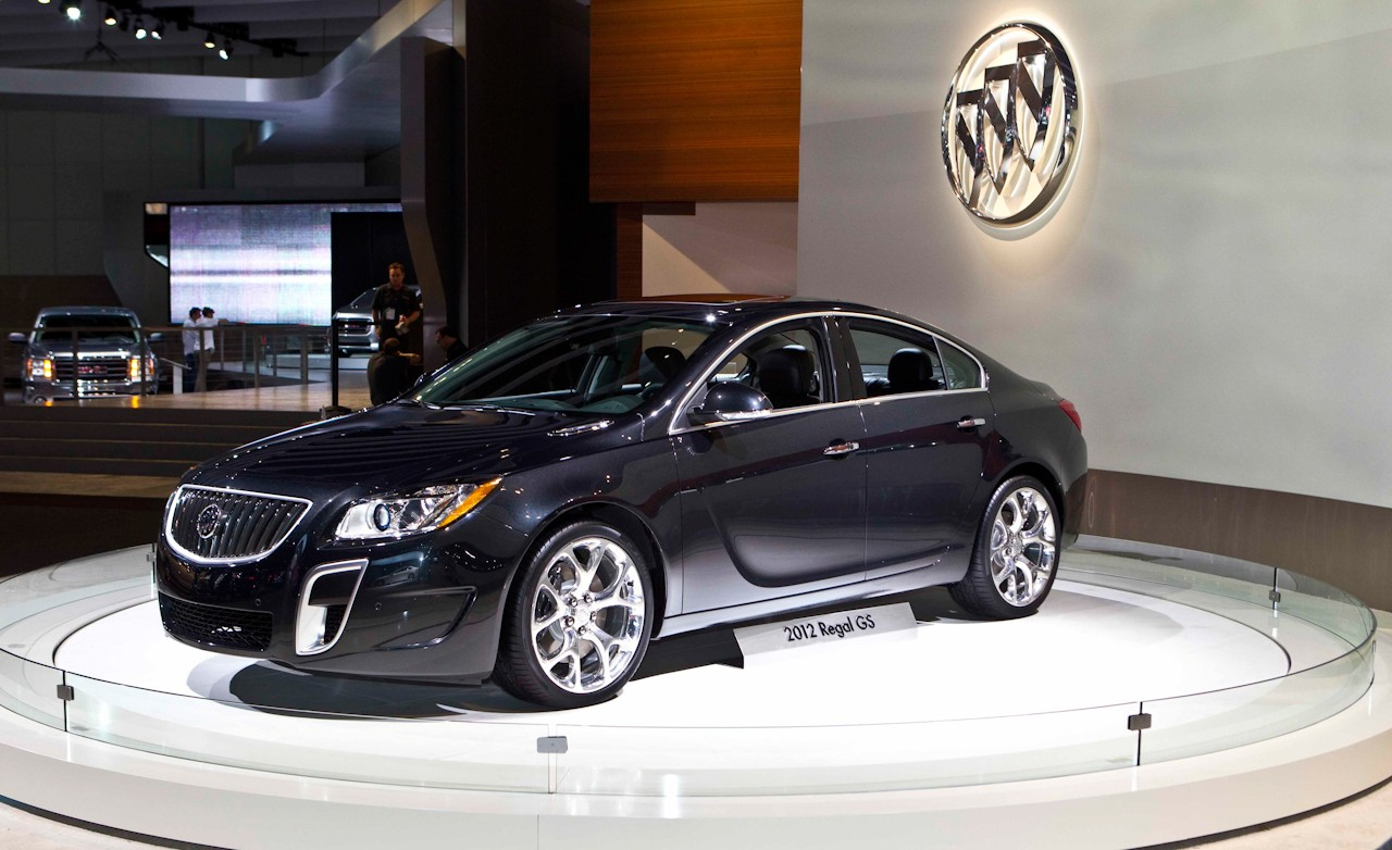 2012 Buick Regal Gs Reviews Specifications Photos