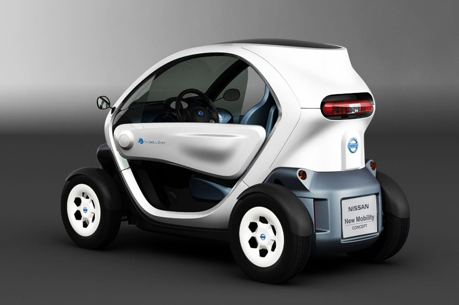 Electric Bicycle Reviews >> Nissan Clones the Renault Twizy EV – Photos, Reviews ...
