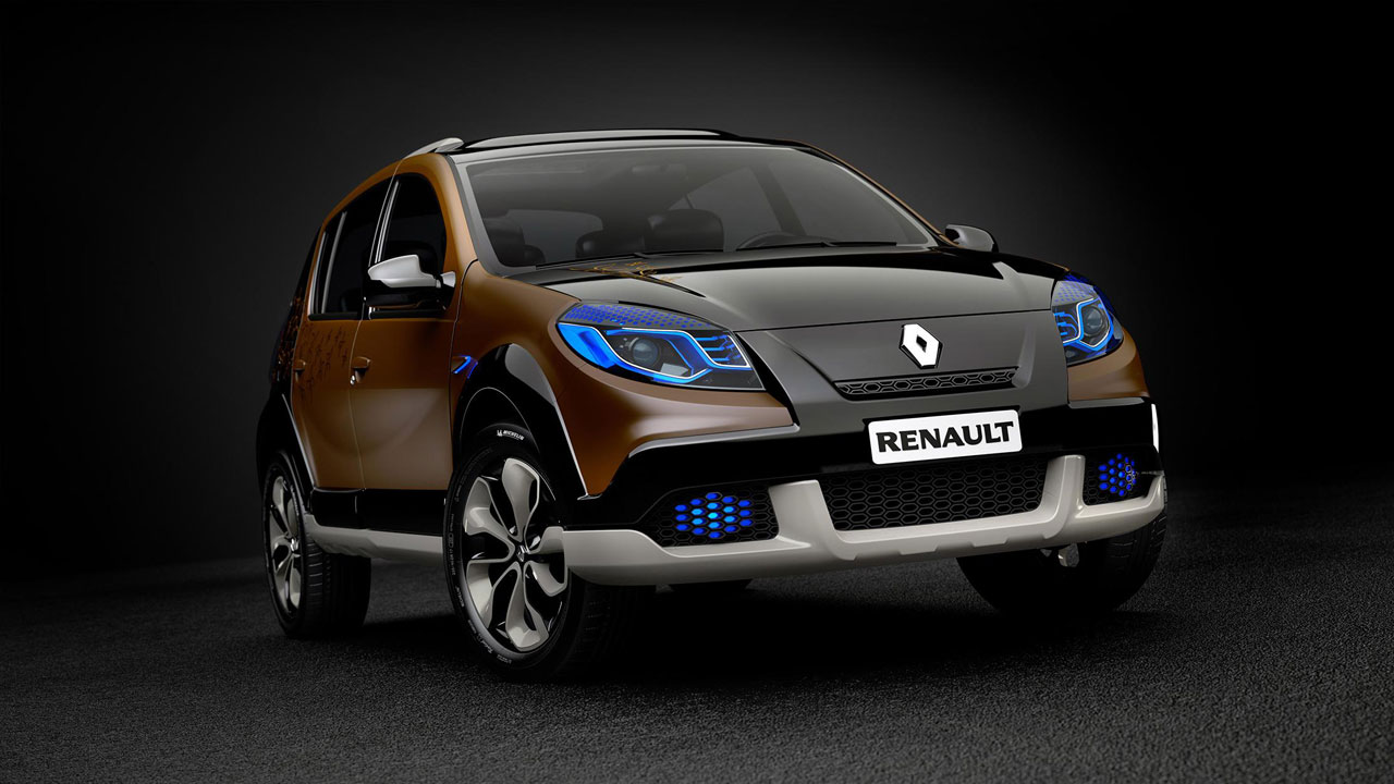 renault sandero stepway concept features photos reviews price. Black Bedroom Furniture Sets. Home Design Ideas