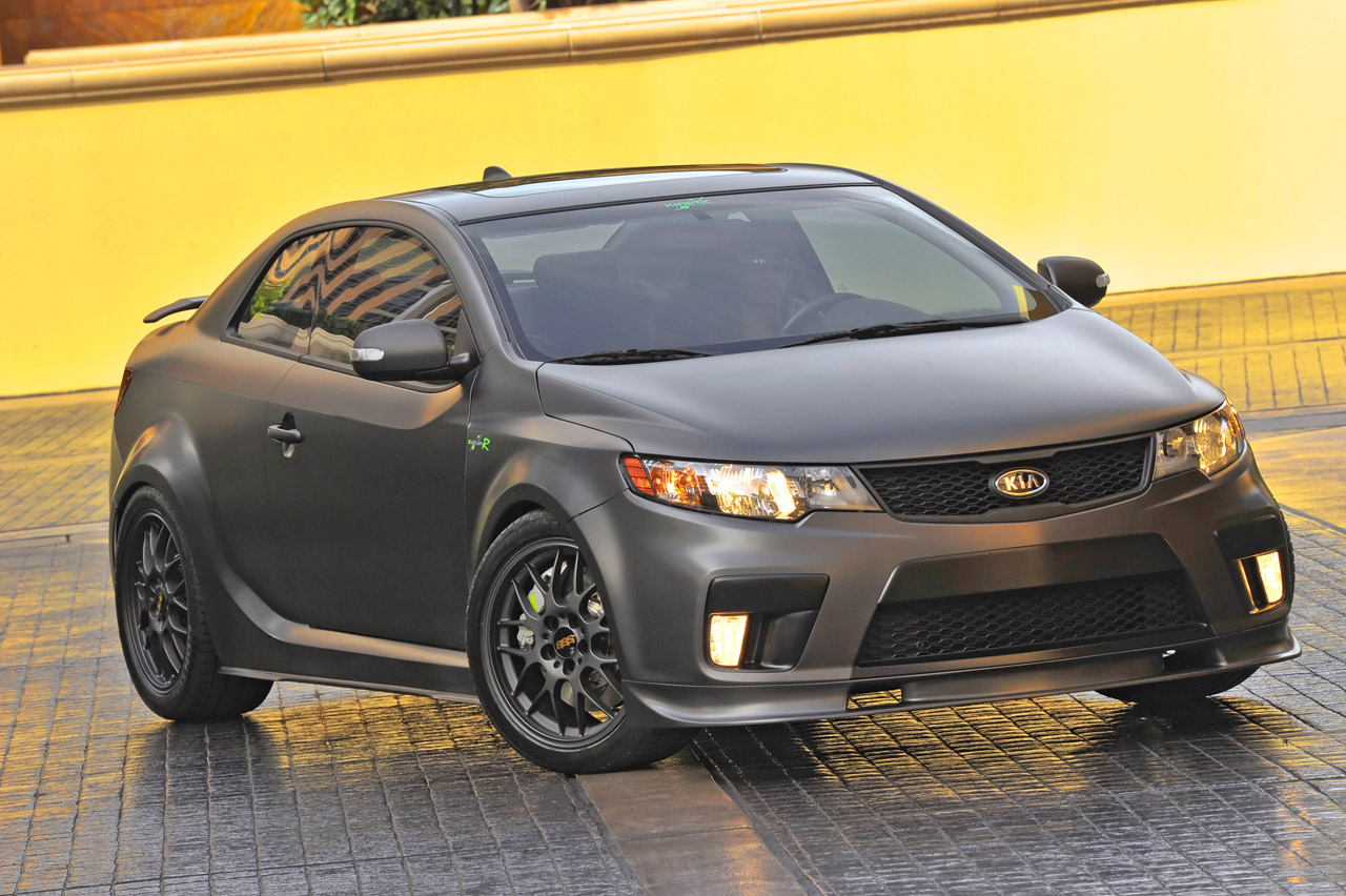 kia forte koup type r concept photos reviews. Black Bedroom Furniture Sets. Home Design Ideas