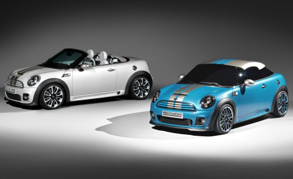 mini roadster concept and coupe concept 1 cd gallery 2011 Mini Roadster   Reviews, Photos, Features