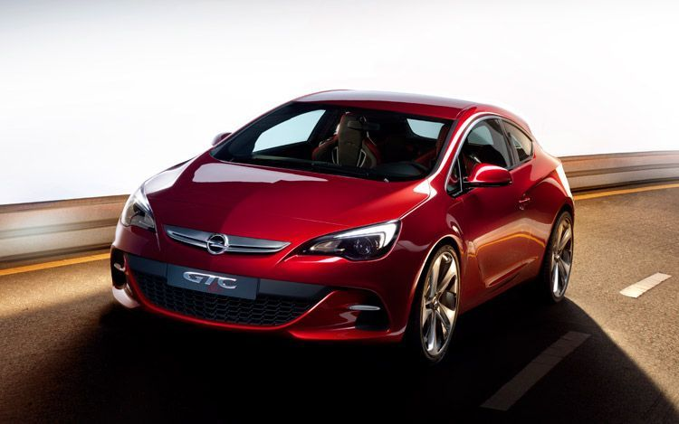 opel gtc paris concept front Opel GTC Concept   Photos, Reviews, Features