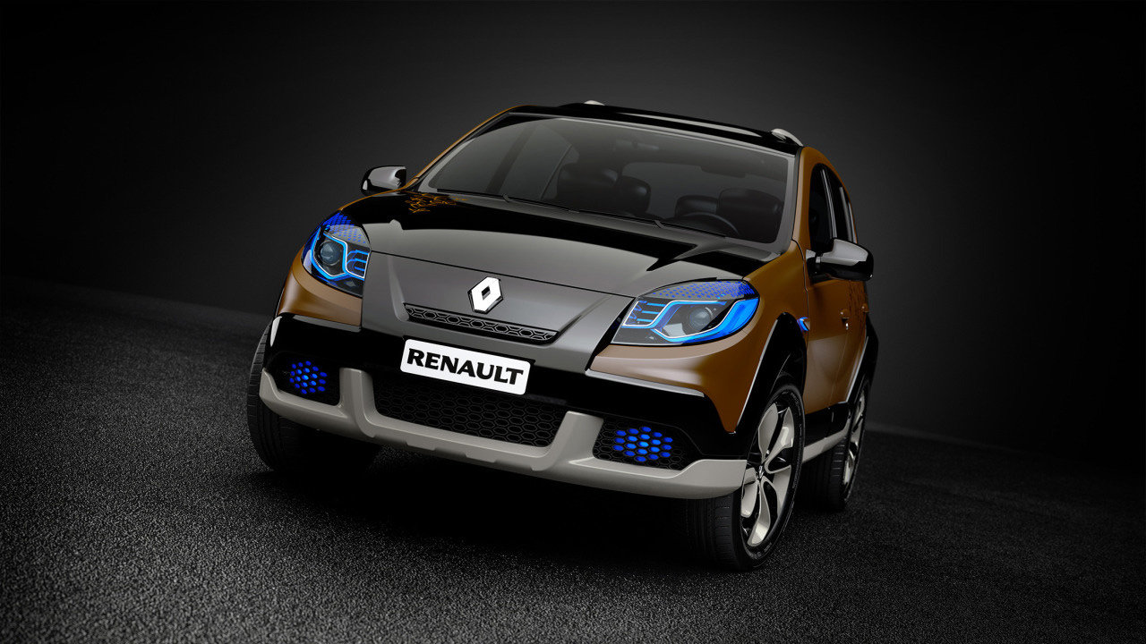 renault sandero stepway concept6 Renault Sandero Stepway Concept   Features, Photos, Reviews, Price