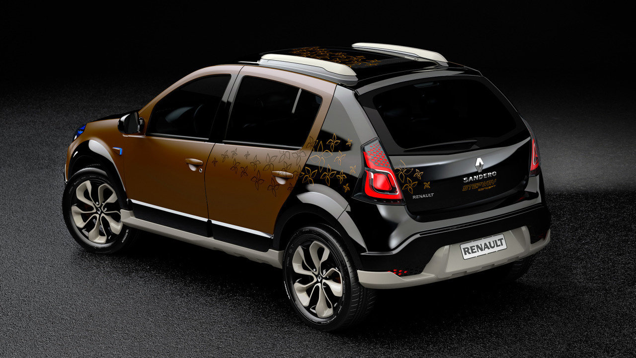 renault sandero stepway concept8 Renault Sandero Stepway Concept   Features, Photos, Reviews, Price