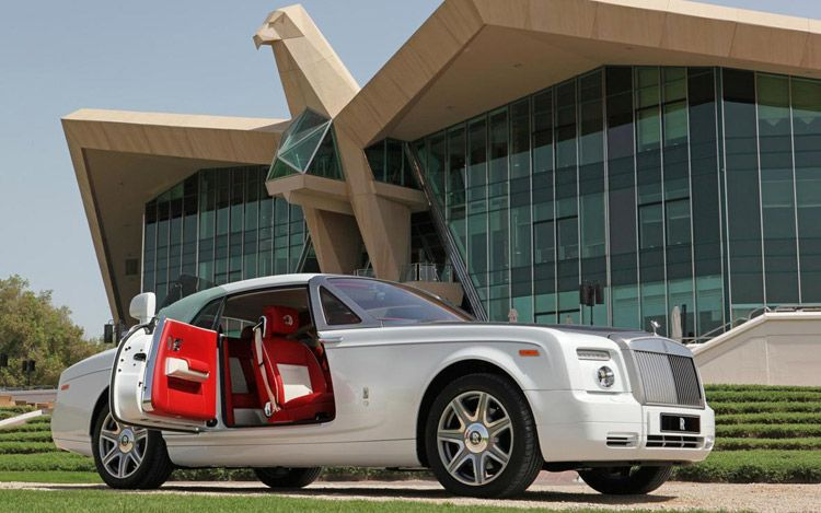 rolls royce shaheen phantom coupe front three quarter door open Rolls Royce Phantom Coupe Shaheen Special Edition   Photos, Features, Price