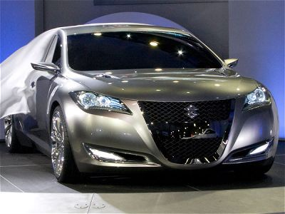 suzuki kizashi 3 concept1 Suzuki Kizashi Bonneville Special   Photos, Specifications, Reviews
