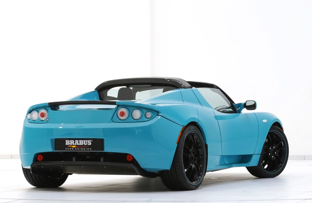 2011 Brabus Tesla Roadster Sport Green Package Photos