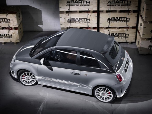 2011 Fiat 500C Abarth esseesse Rear Side Top Up View 2011 Abarth 500C esseesse   Features, Photos