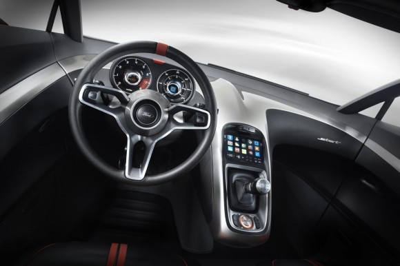 2011 Ford Start Concept Interior 580x386 2011 Ford Start Concept   Photos, Features