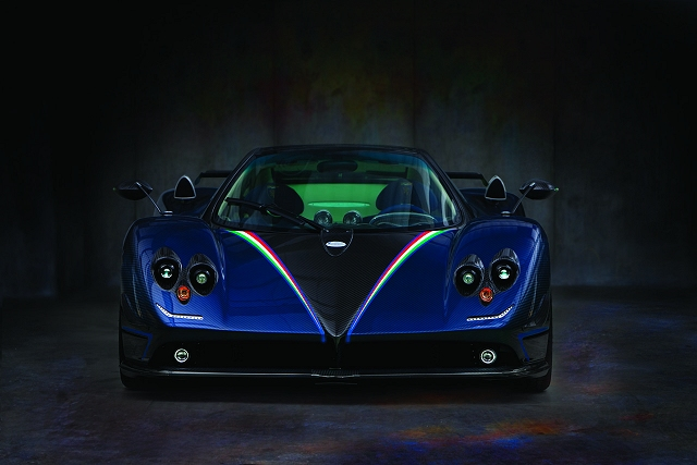 2011 Pagani Zonda Tricolore Front View 2011 Pagani Zonda Tricolore   Photos, Features, Price