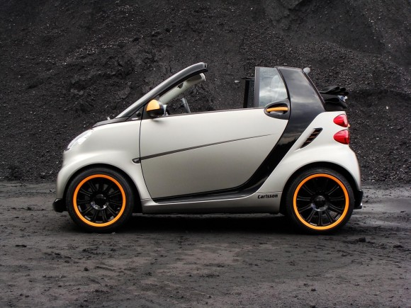 2011 Smart Carlsson fortwo 580x435 2011 Carlsson Smart Fortwo   Photos, Features, Price